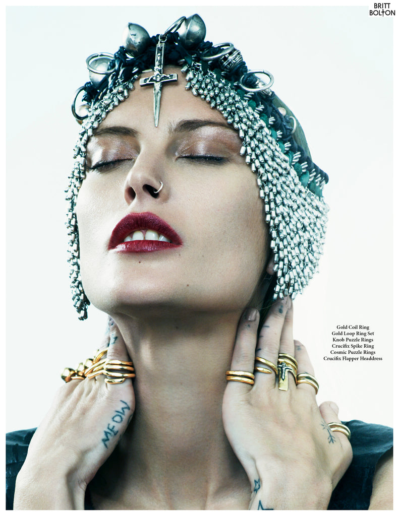 Catherine Mcneil x Britt Bolton Jewelry Look book page 3