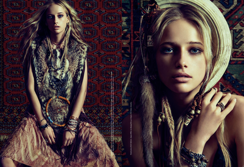 Britt Bolton Jewelry in L'Officiel Magazine Totem 3