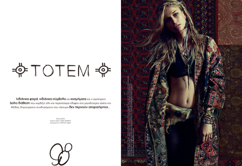Britt Bolton Jewelry in L'Officiel Magazine Totem