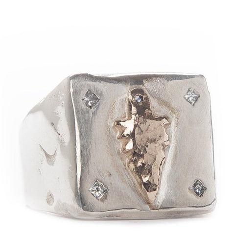 Playing Card Casino Ring