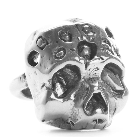 Zombie Ring Silver