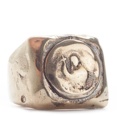 Holy Signet Ring Brass