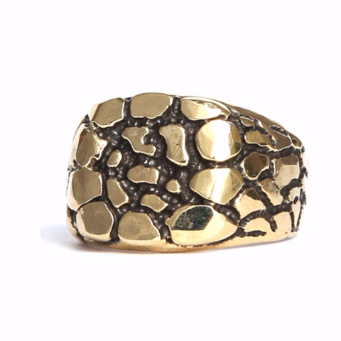 Pebble Ring Gold