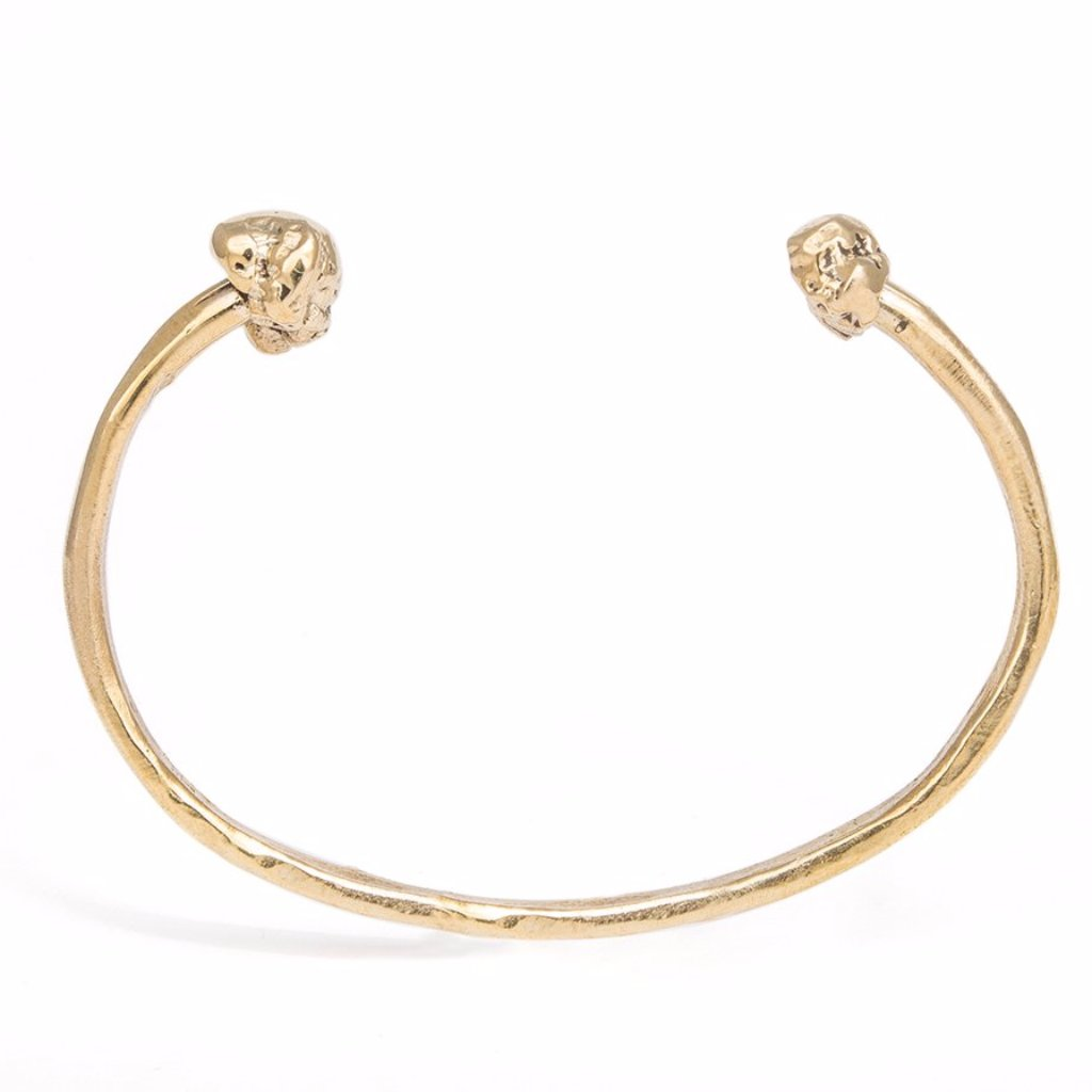 Britt Bolton Meteor Cuff Bracelet in Brass_UNISEX JEWELRY BY BRITT BOLTON. JEWELRY MADE IN NYC. STORE: 242 GRAND ST. BROOKLYN, 11211