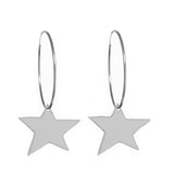"XL STAR 1.5"" HOOPS"