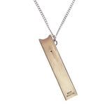 JUUL CASE NECKLACE SILVER