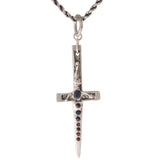 Gemstone Crucifix Dagger