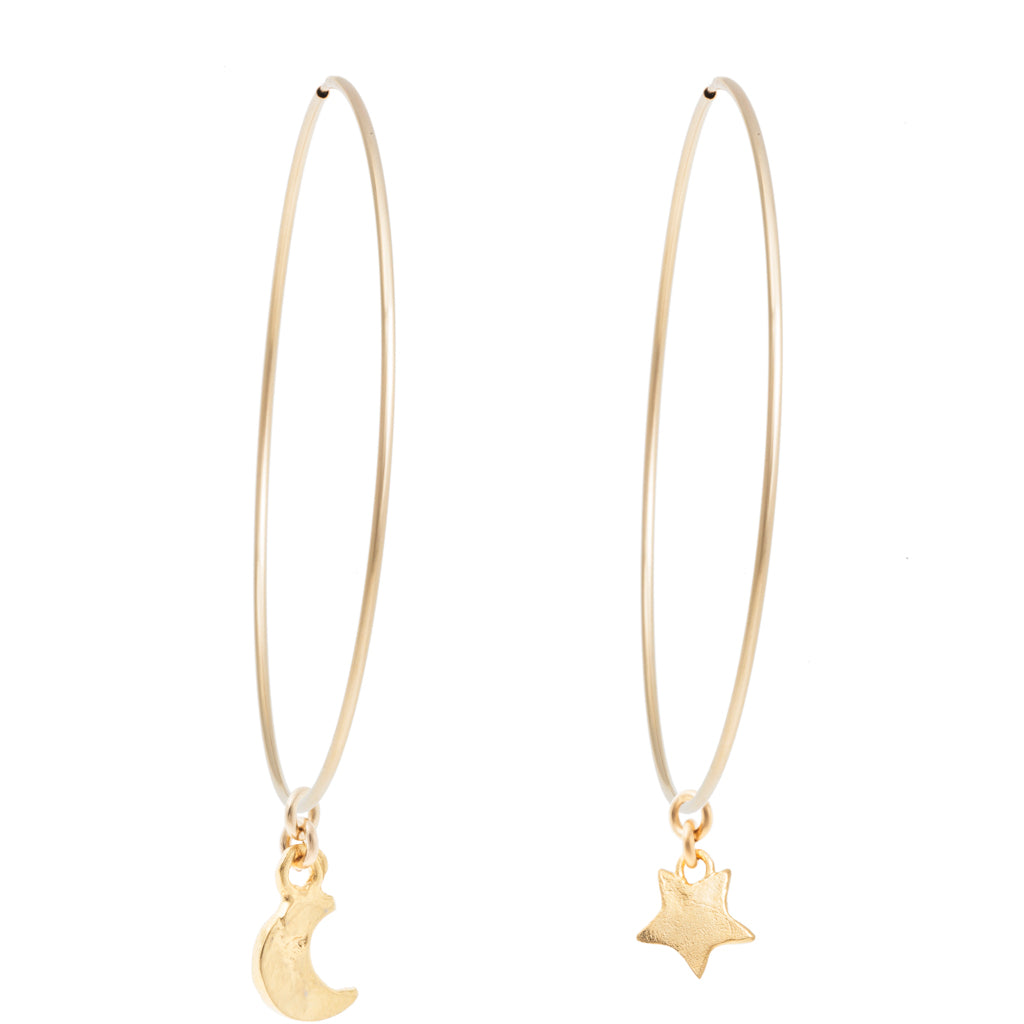 "MOON & STAR 2.5"" PAIR"