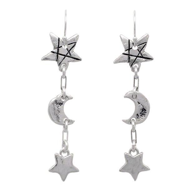 Shooting Star Party Earrings