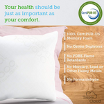 Standard - Premium Shredded Memory Foam Pillow