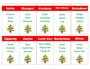 Christmas Games Tagged Pta Party Game Pam S Party Printables