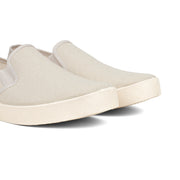 Barcelona Canvas Slip-on Sneaker - Beige