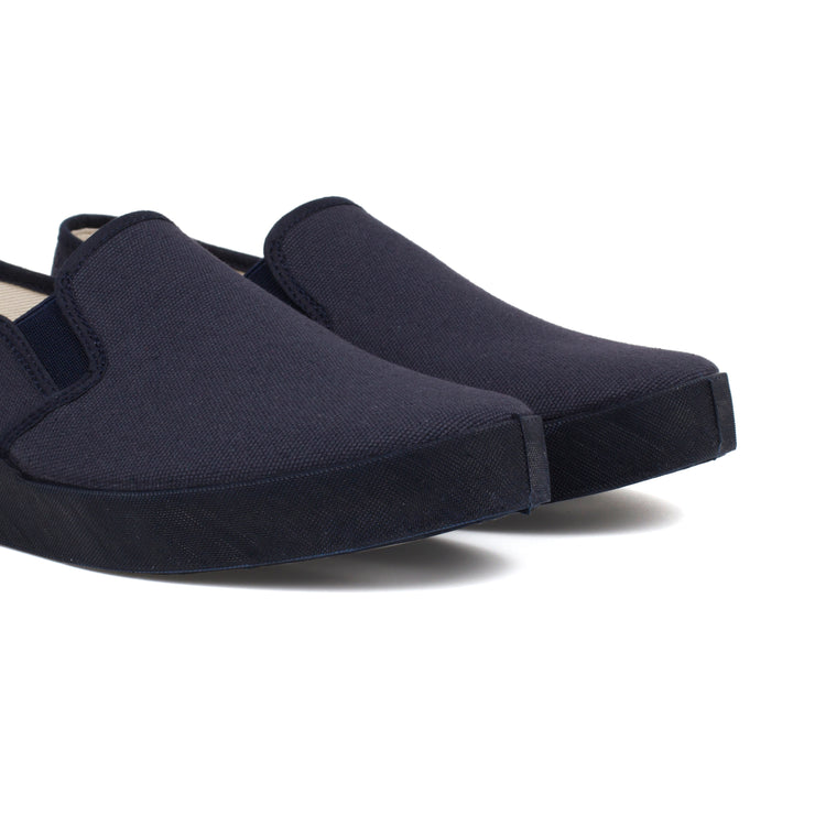 Barcelona Canvas Slip-on Sneaker - Navy