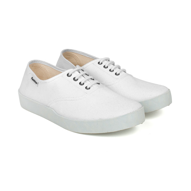 Capri Canvas Sneaker - White