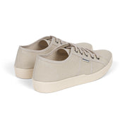 St.Tropez beige tan women's vegan canvas tennis shoes