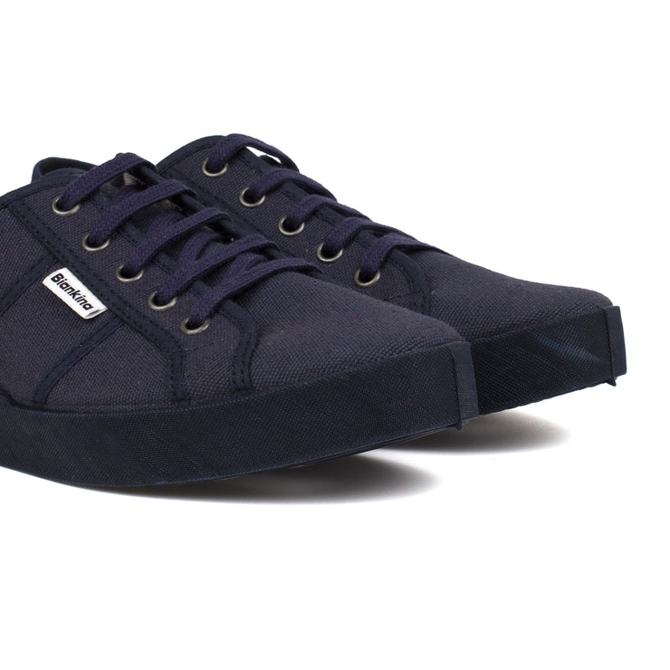 St.Tropez Canvas Sneaker - Navy