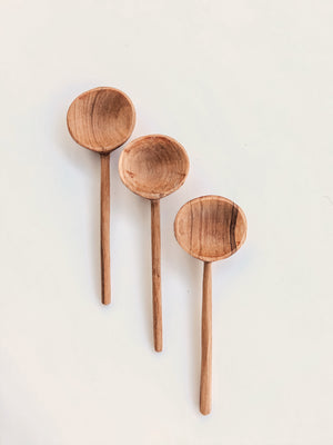 Olive Wood Coffee Spoon
