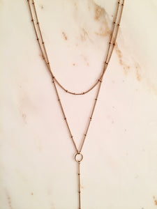 Saturn Chain Lariat