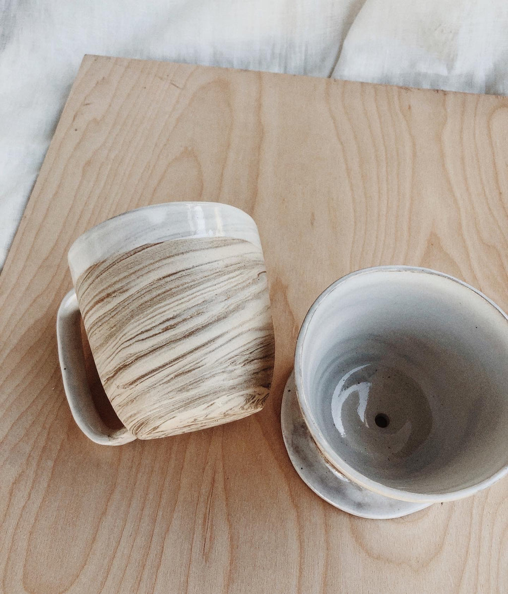 Marbled Mug :: Ready to Ship