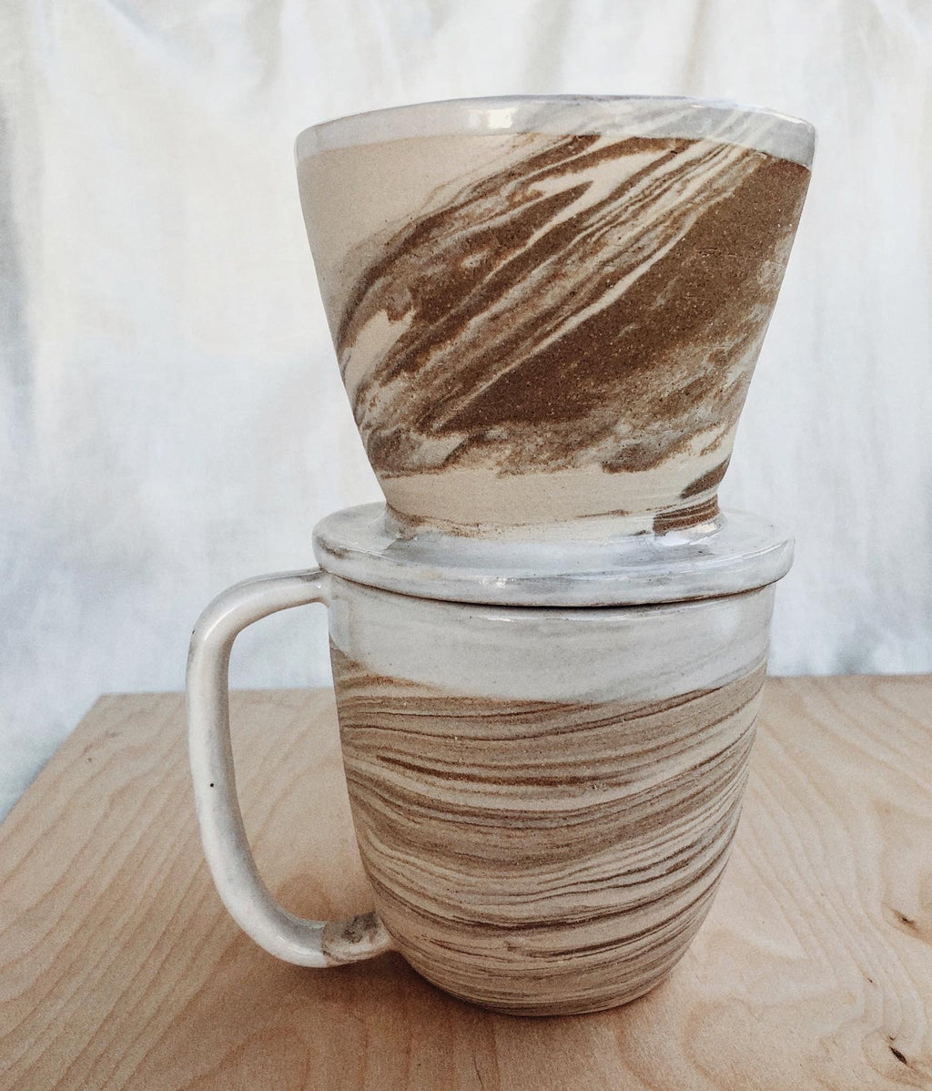 Marbled Pour Over :: Ready to Ship
