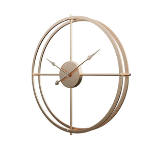 40cm large Silent Wall Clock Modern Design Clocks Home Decor Office European Style Hanging Wall Watch Timer Clocks modern design