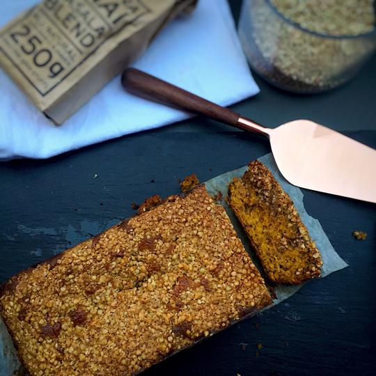 Chai Spiced Pumpkin Crumble Loaf