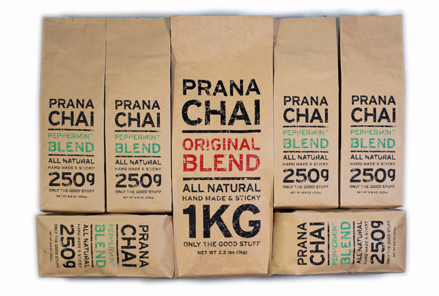 Prana Chai Peppermint Blend Bundle