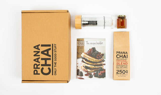 4 x Prana Chai Retail 250g Cold Brew Kits