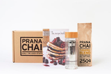 Prana Chai Turmeric Blend Cold Brew Chai Kit