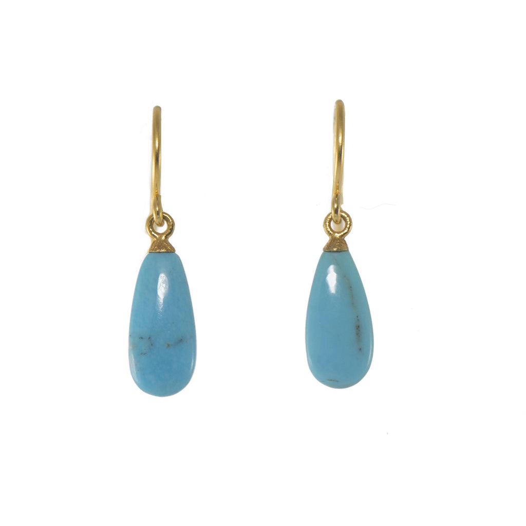 POLISHED TURQUOISE DROP(E010-180)