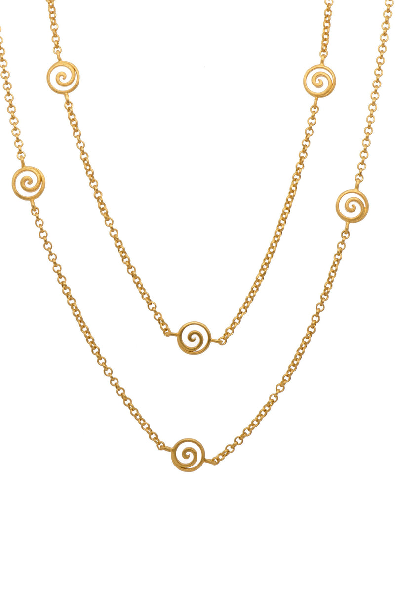 GRATITUDE SWIRL NECKLACE 36