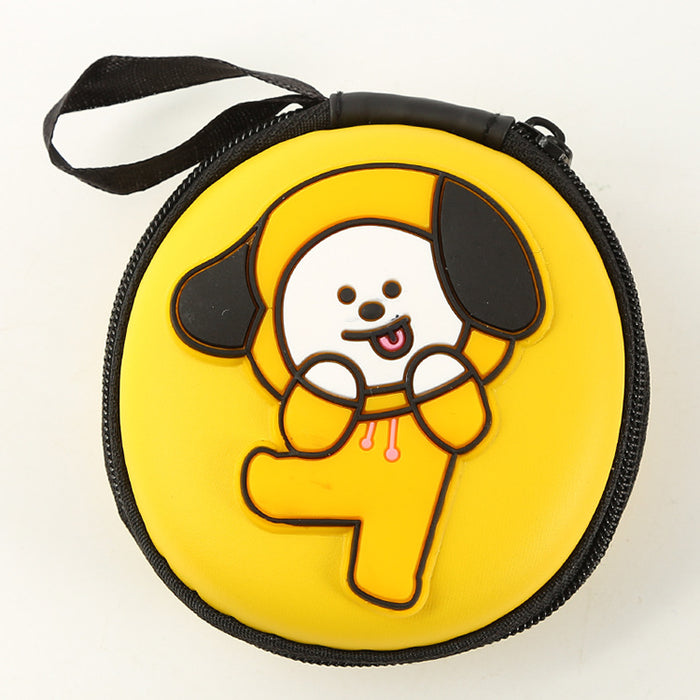 BT21 Official Merchandise  -BT21 Cell Phone Cable Airpods Case