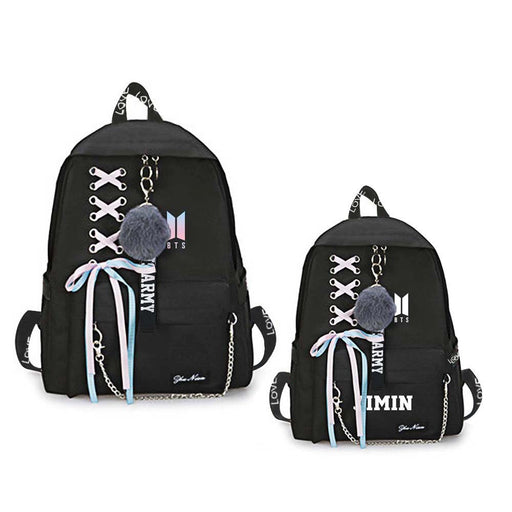 BTS Merch - Bangtan Boys ARMY Backpacks For School