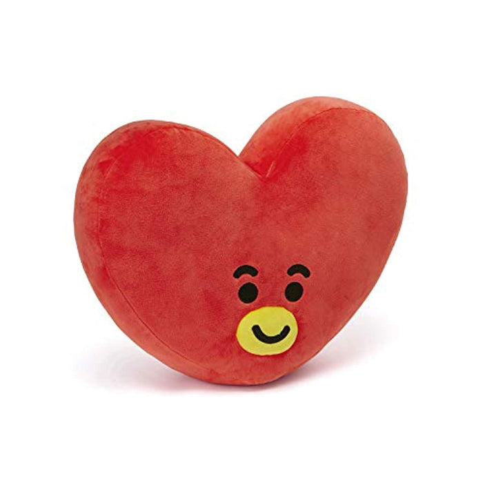 BT21 Official Merchandise by Line Friends - TATA Smile Decorative Throw Pillows Cushion, 11 Inch