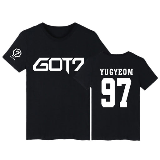 """GOT7 BLACK MEMBER"" T-SHIRTS"
