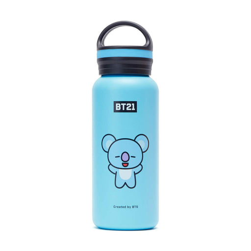 BT21 Official Merchandise  - Vacuum Drinking Tumbler Cup with Lid 16 oz
