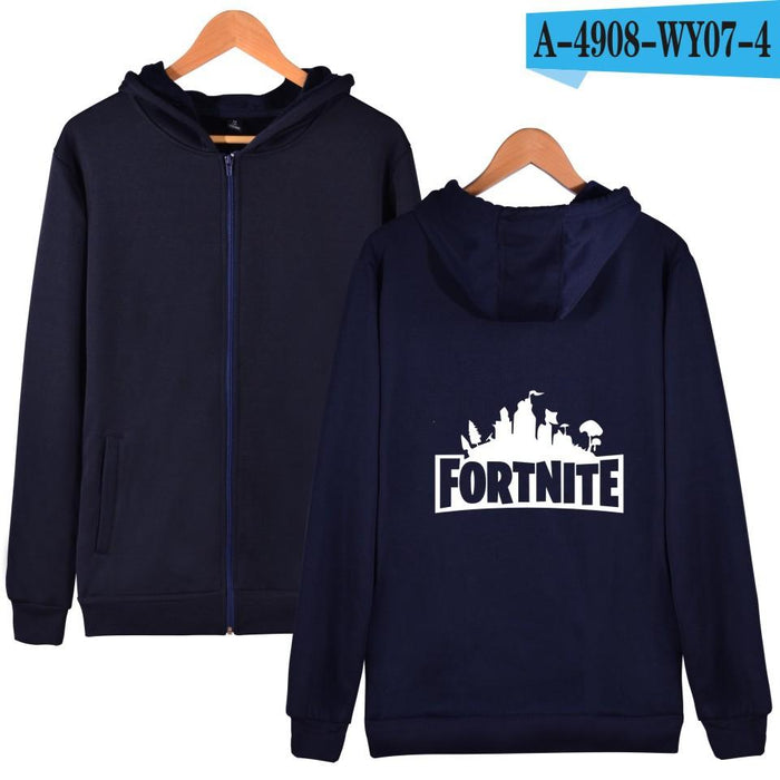 Cool Guy Loving Game Fortnite Galaxy Oversized Printed Hoodie