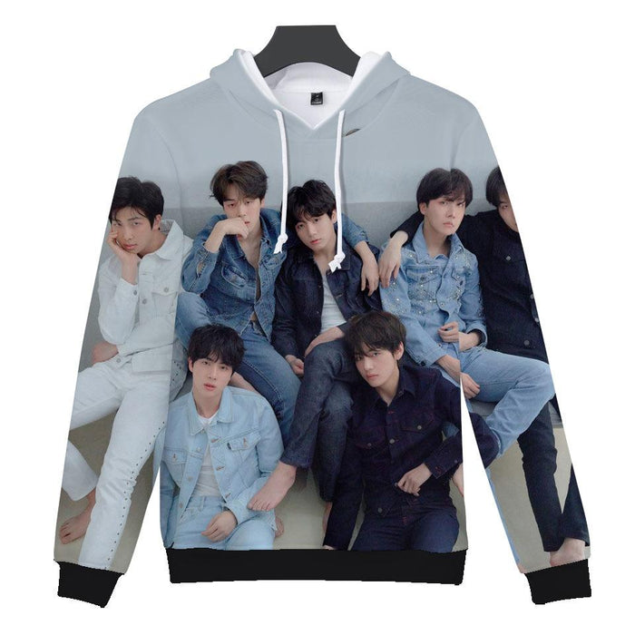 BTS K-pop Aesthetic Love Yourself Hoodie