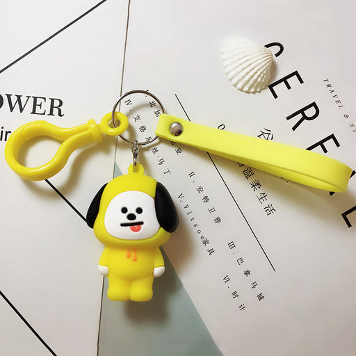 BT21 Official Merchandise  - CHIMMY Keychain Ring