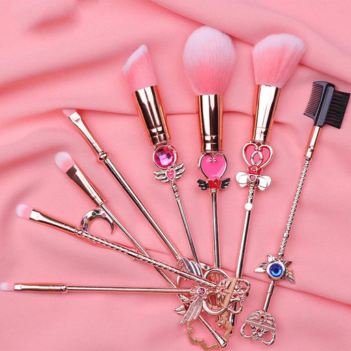 Kawaii Sakura Sailor Moon Make Up Brush Set