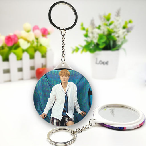 BTS Jimin Official Merchandise  -Jimin Mirror Keychain Ring