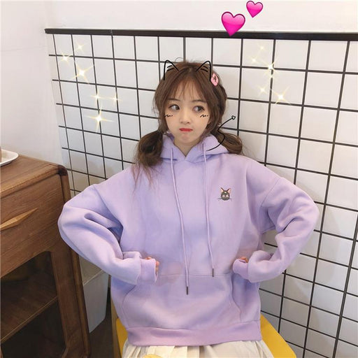 Sailor Moon Pastel Kawaii Aesthetic Pink Hoodie