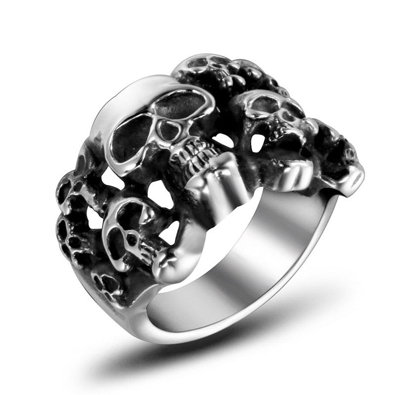 Gothic Skull Skeleton Rings