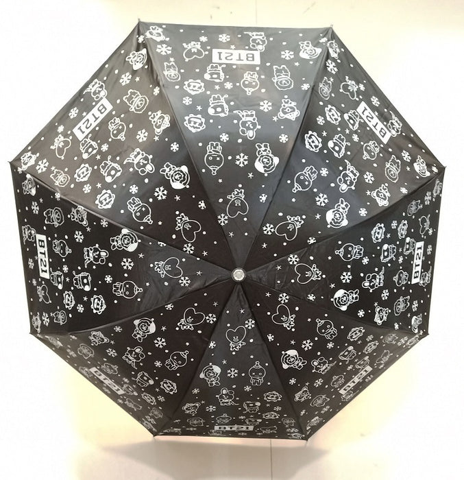 BT21 Official Merchandise by Line Friends -BT21 Christmas Gift Umbrella
