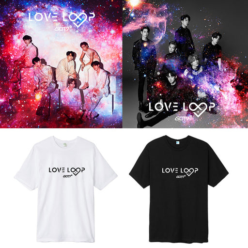 GOT7 LOVE LOOP T-SHIRTS