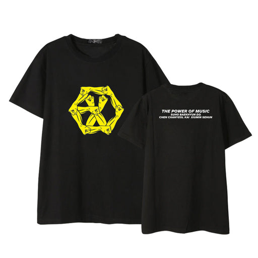 EXO THE POWER OF MUSIC T-SHIRTS