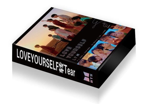 """BTS ALL IN ONE LOVE YOURSELF: TEAR 轉"" ARMY BOX (LIGHT VER)"