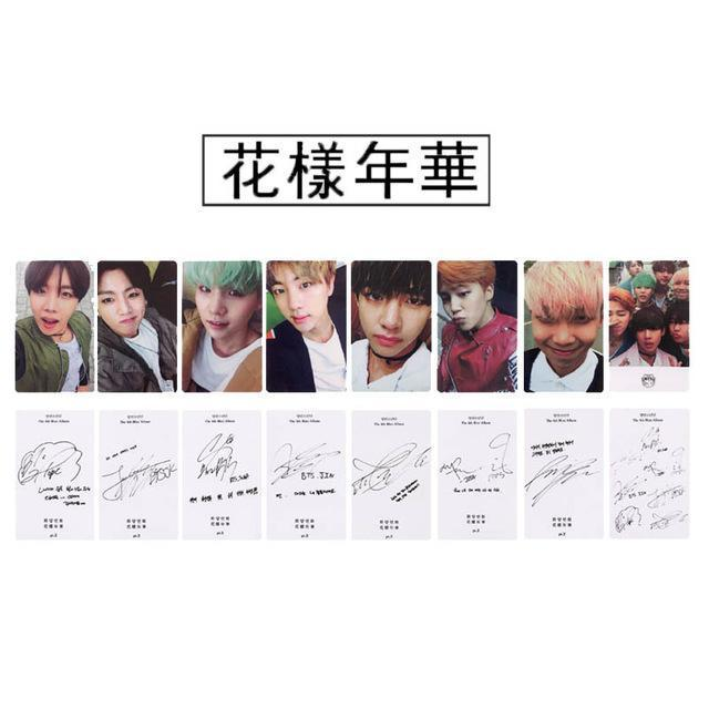 """I NEED YOU"" PHOTO CARDS"