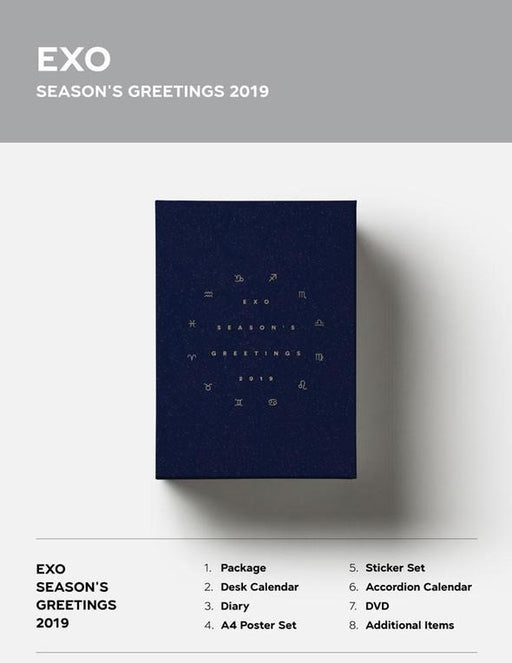 EXO - 2019 SEASON'S GREETINGS