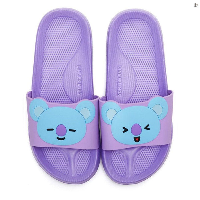 BT21 OFFICIAL CHARACTER SLIPPERS